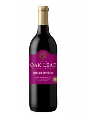 Oak Leaf® Vineyards Cabernet Sauvignon Red Wine – 750ml, American