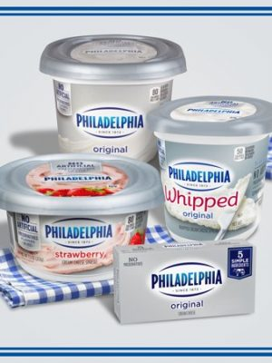 Philadelphia Original Cream Cheese, 2 ct – 8 oz Packages